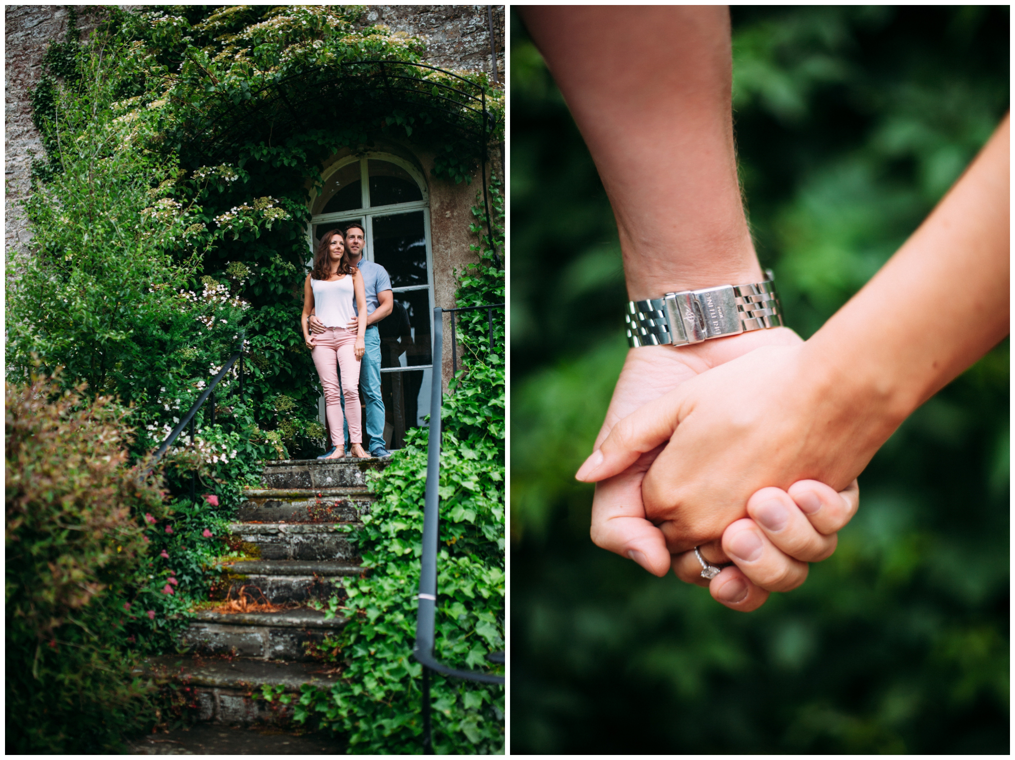 Ston Easton pre-wedding photography